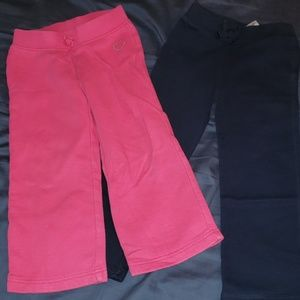 Two pairs cotton pants